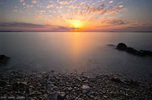 Summer sunset by ivancoric