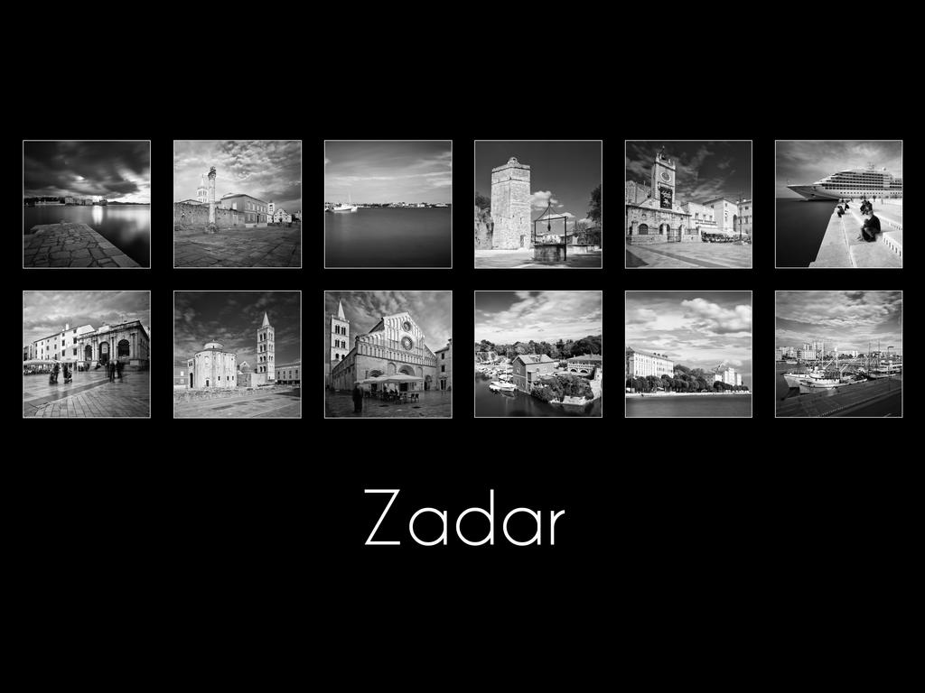 Zadar -  B and W by ivancoric