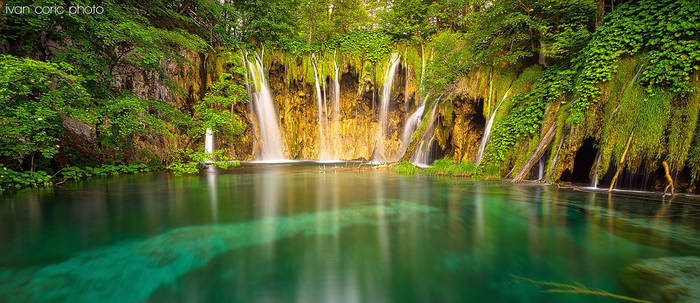 Plitvice in Green by ivancoric