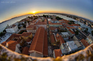 Zadar at 8mm III by ivancoric
