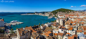 Split, view from the top by ivancoric