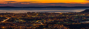 Split at dusk by ivancoric