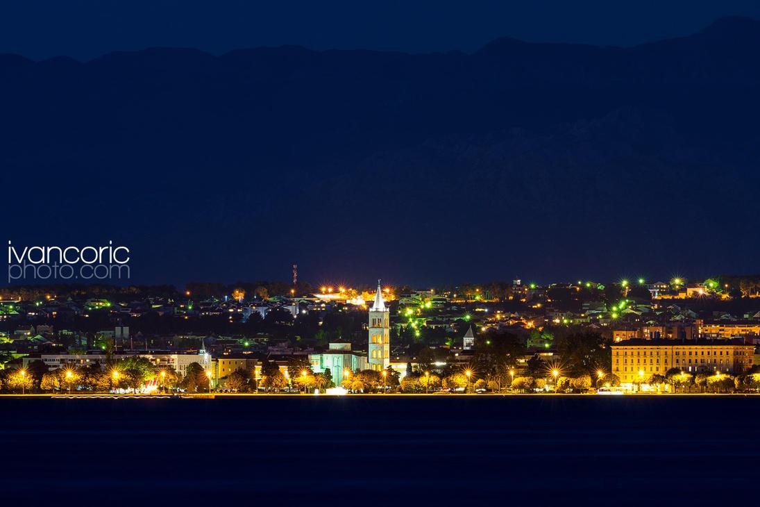 Zadar from Preko by ivancoric