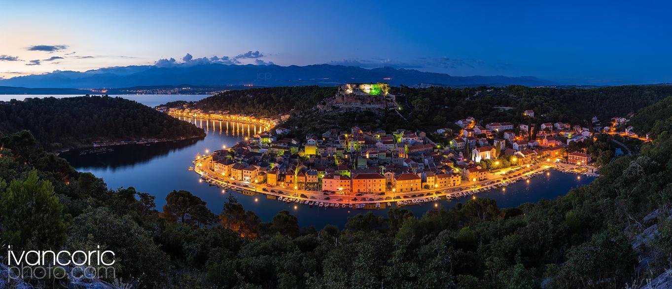Novigrad summer evening by ivancoric