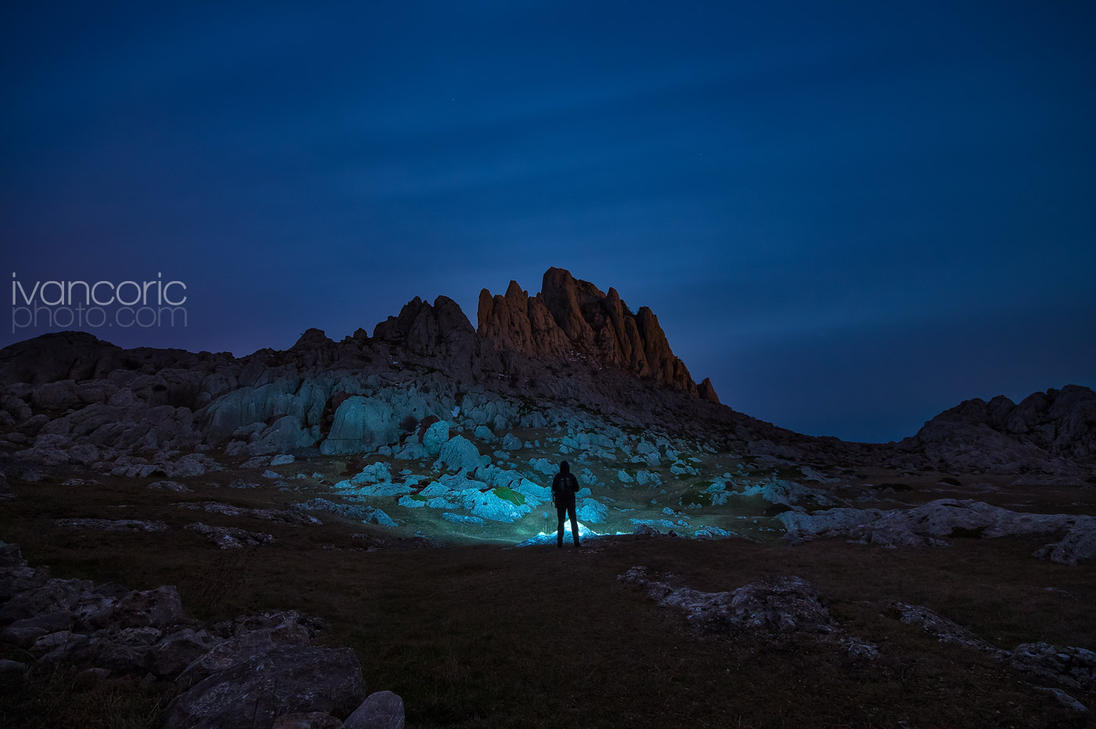 Lost in the night by ivancoric
