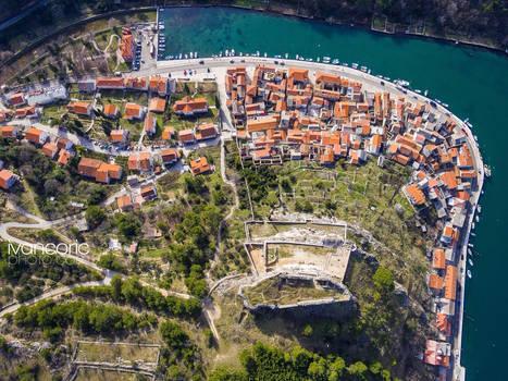 Novigrad from Air