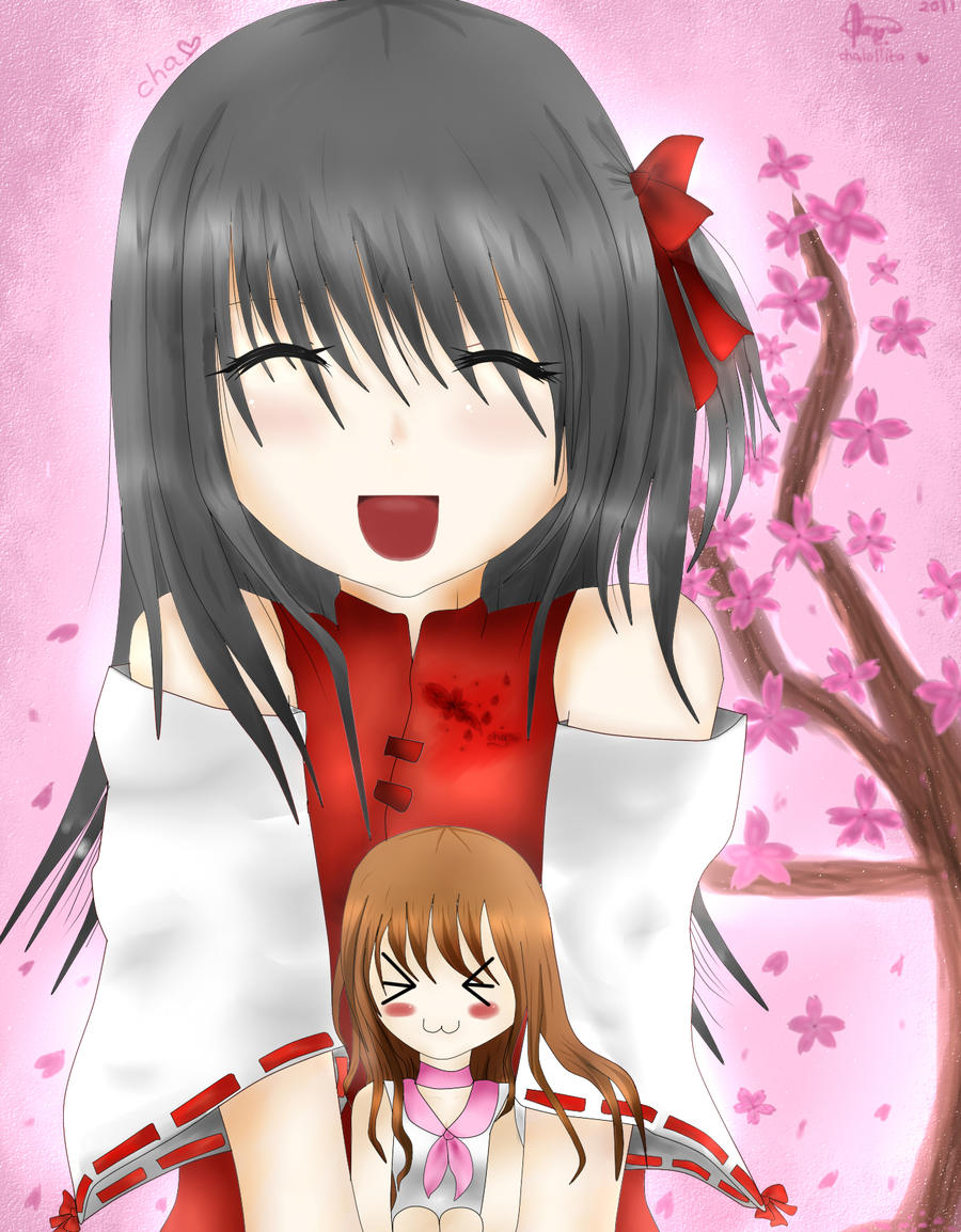 Me and Lollita Aizukawa by chalollita