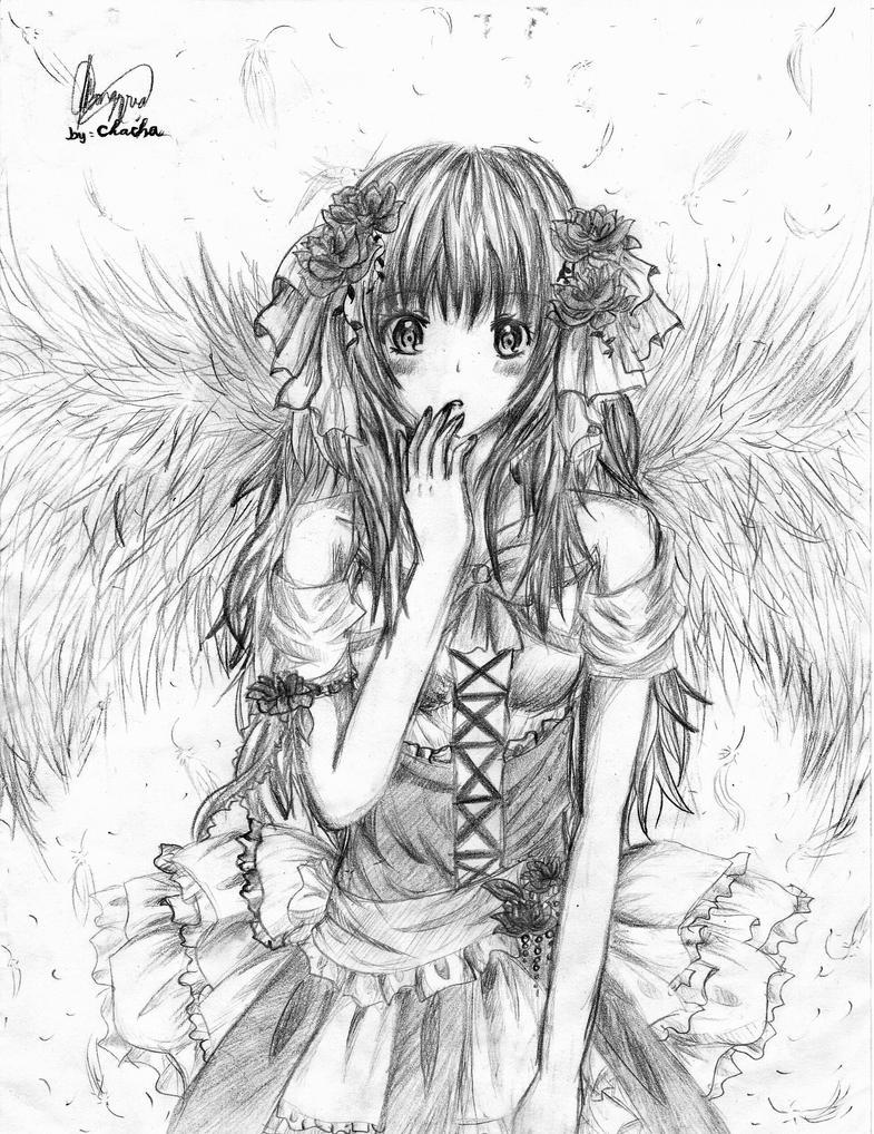 Archangella sketch by chalollita