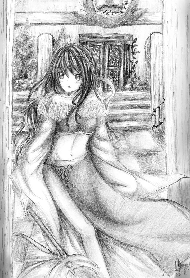 My Sorcerer lady by chalollita