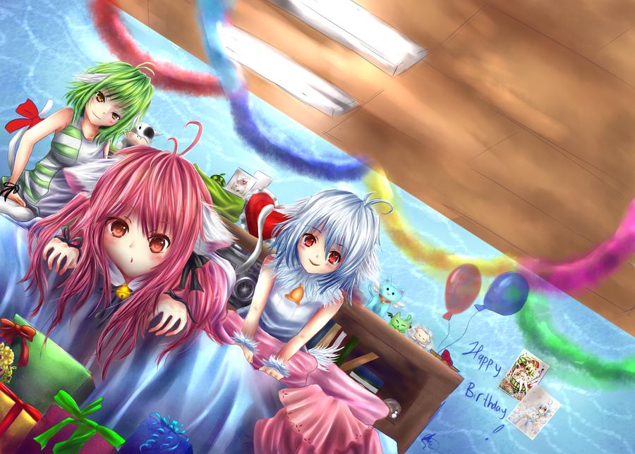 Gift Art : HBD pep-san by chalollita
