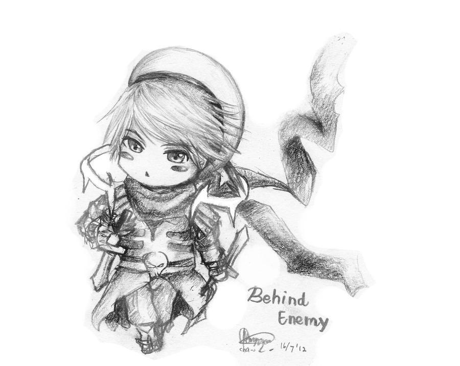 Chibi Request - Behind Enemy by chalollita