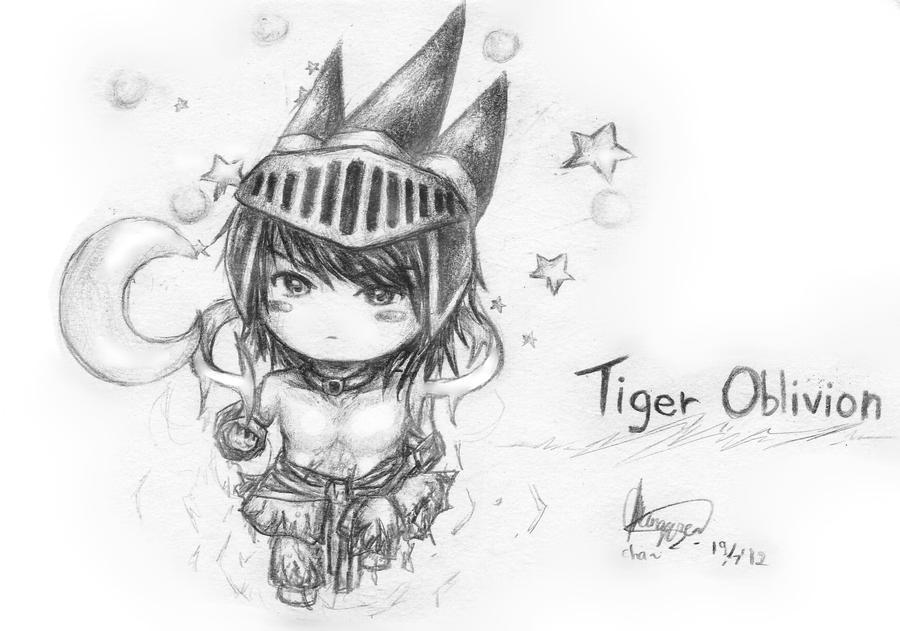Tiger Oblivion by chalollita