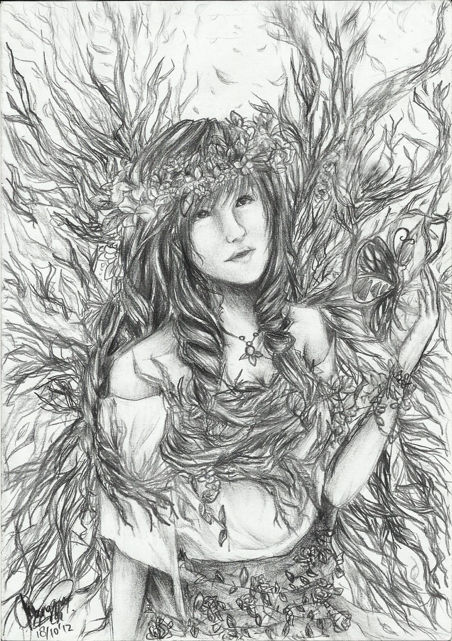 The Forest Queen by chalollita