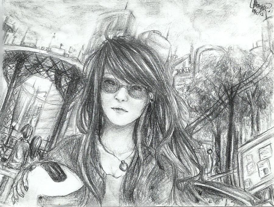 Metropolitan Girl by chalollita