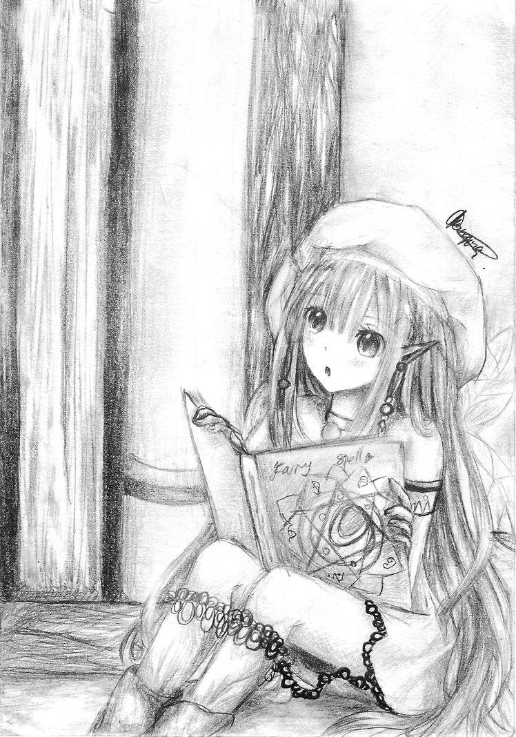 little miss fairy by chalollita