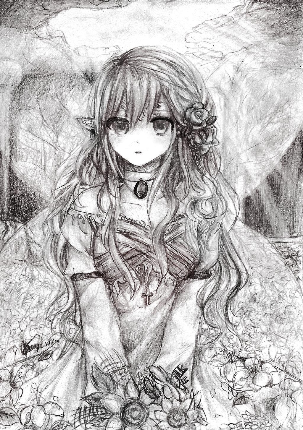 Queen Fairy's ruin by chalollita