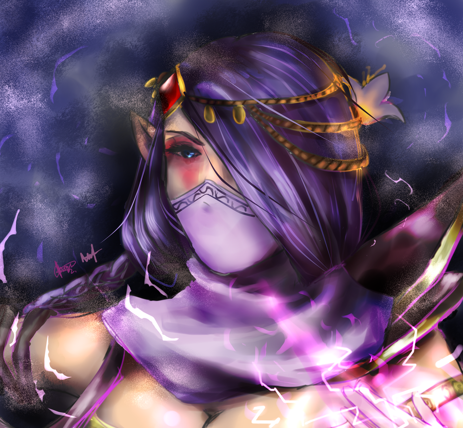 Dota 2 - Templar Assassin by chalollita
