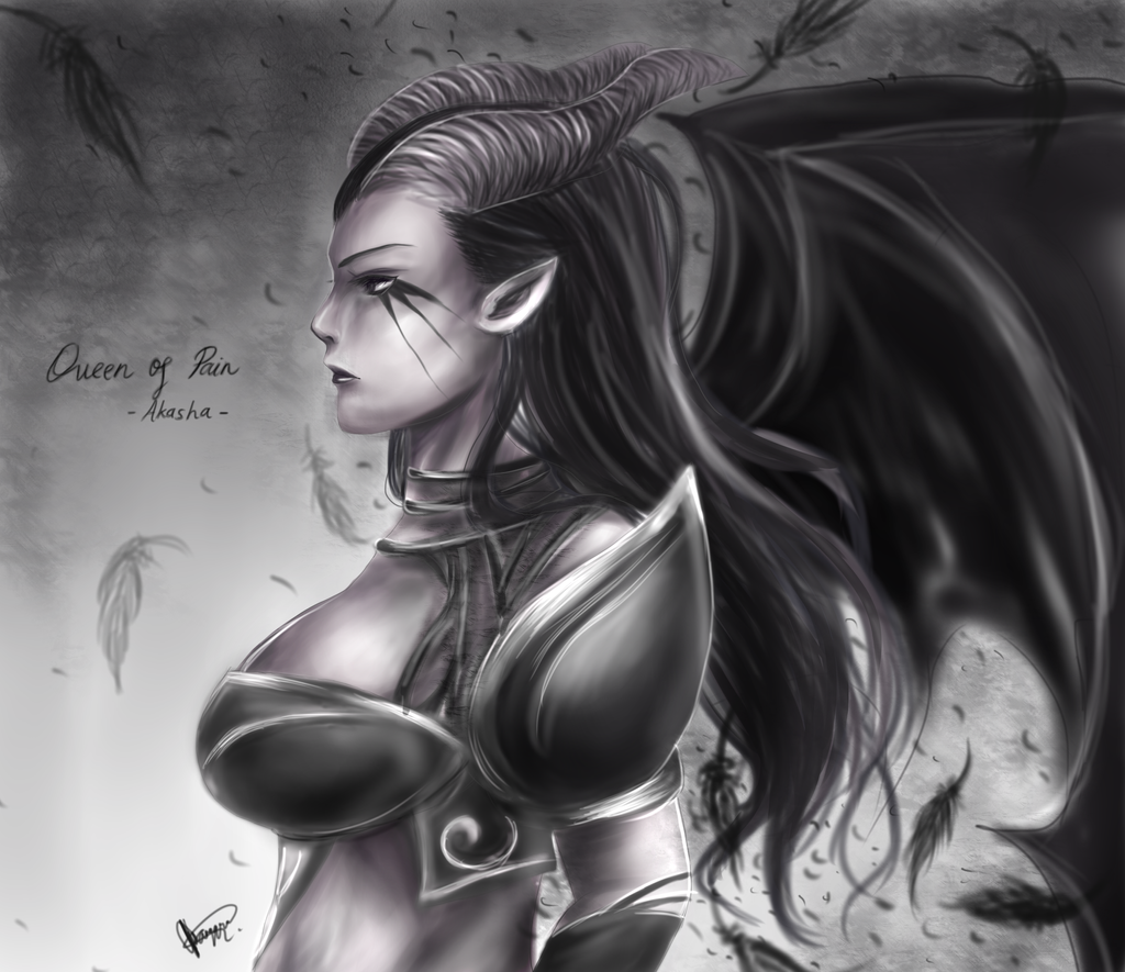 Dota 2: Queen of Pain by chalollita