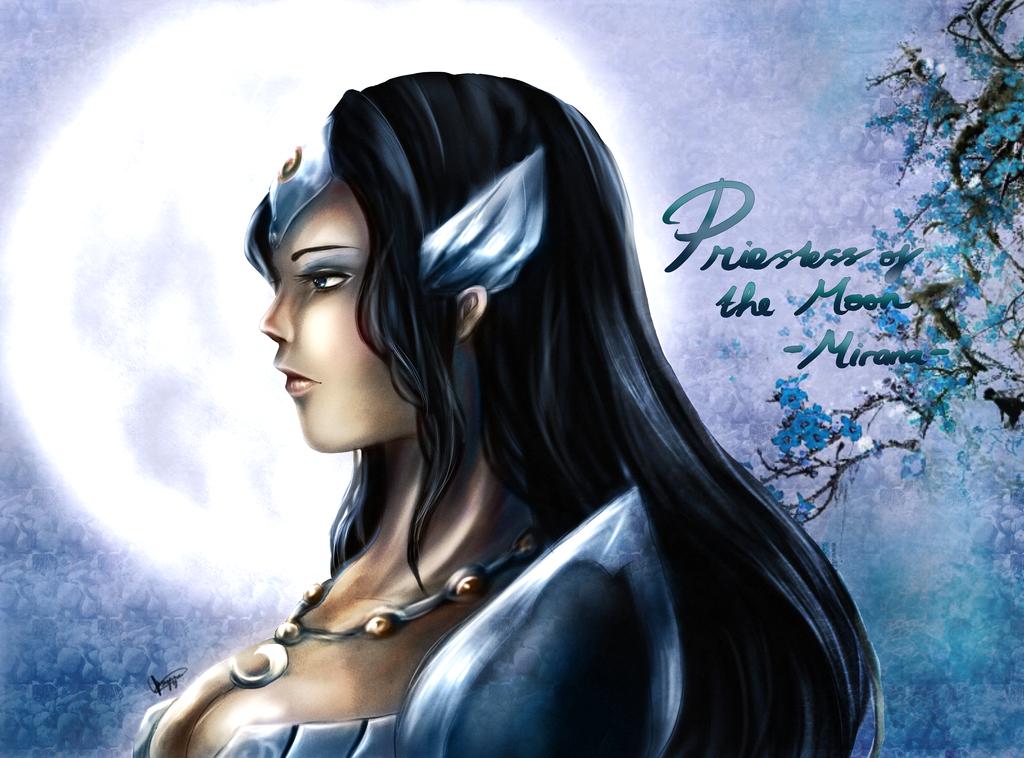 Dota 2: Priestess of the Moon by chalollita