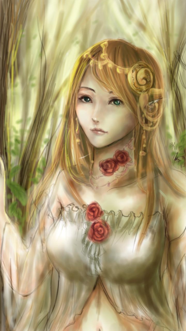 Forest Elf by chalollita