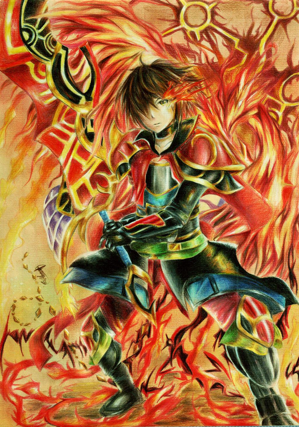 BF: Phoenix God Arus by chalollita