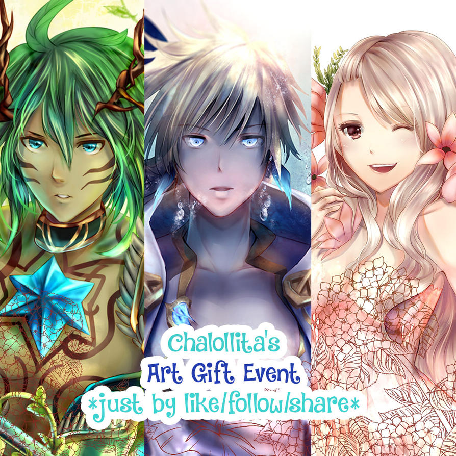 JOIN CHALOLLITA ART GIFT EVENT by chalollita