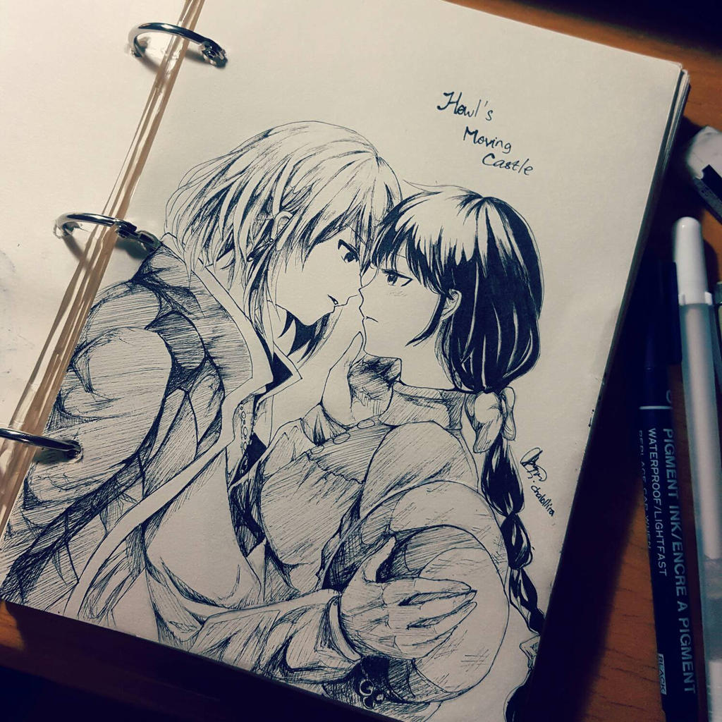 Howl and Sophie by chalollita