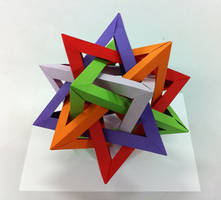 5 Intersecting Tetrahedra by neubauten
