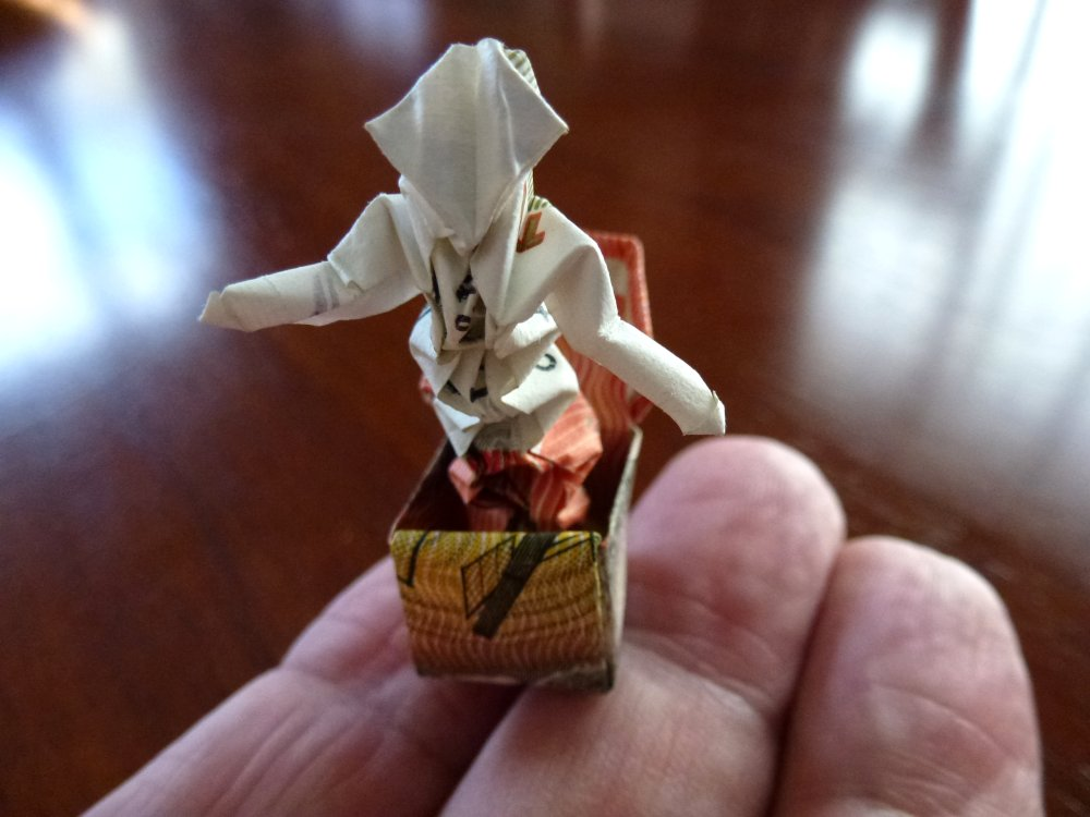Max Hulmes Jack in the box, folded from AUD$20 by neubauten