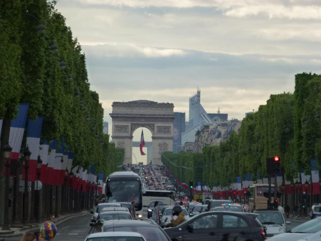 VE Day 2015, Champs Elyses by neubauten