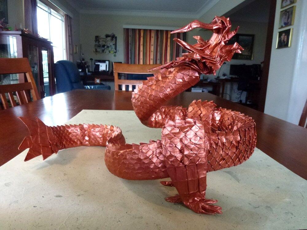 Copper Dragon by neubauten
