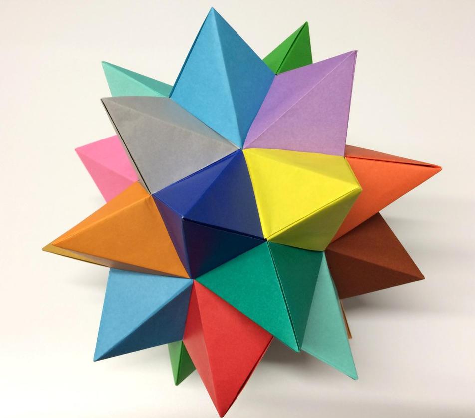 35/365 Tomoko Fuse's Spiked Pentakis Dodecahedron by neubauten