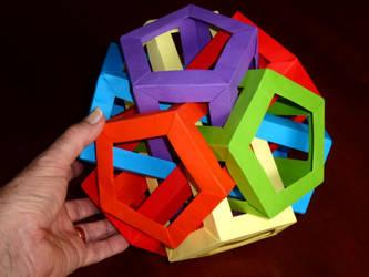6 Intersecting Pentagonal Prisms by neubauten