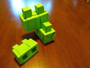 Origami Lego ... because