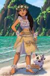 Polynesian Aredhel by isabellerecs