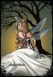 Dark Fairy Galadriel by isabellerecs