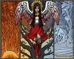 Angel Sailor Mars by isabellerecs