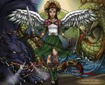 Angel Sailor Jupiter by isabellerecs