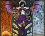 Angel Sailor Saturn by isabellerecs