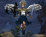Angel Sailor Uranus by isabellerecs