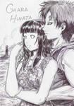 Sunset Beach: Gaara x Hinata