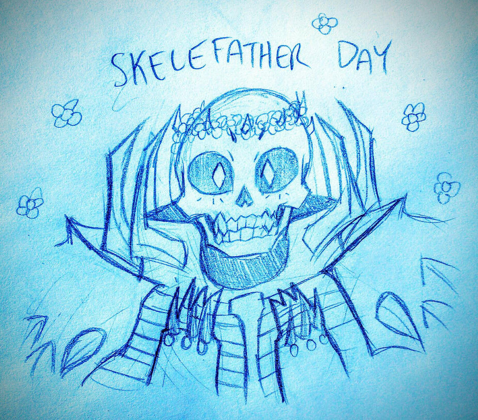 SKELEFATHER DAY by Wowza-Wowzers