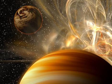 Desertic nebula