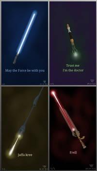 Legendary weapons