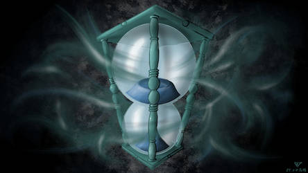 Cosmic sandglass