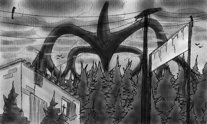The Mindflayer, from Stranger Things