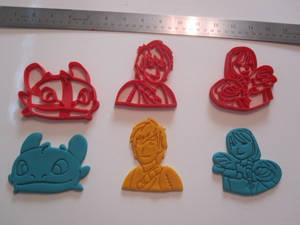 How to Train Your Dragon Cookie Cutter Set