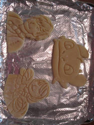 How to Train Your Dragon Cookie Set Cut Dough