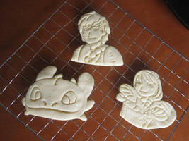 How to Train Your Dragon Cookie Cutter Set Baked