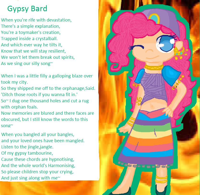 Lyric jingle jangle jingle lyrics : Gypsy bard ((Pinkie pie human)) by Maddiemintdeath on DeviantArt
